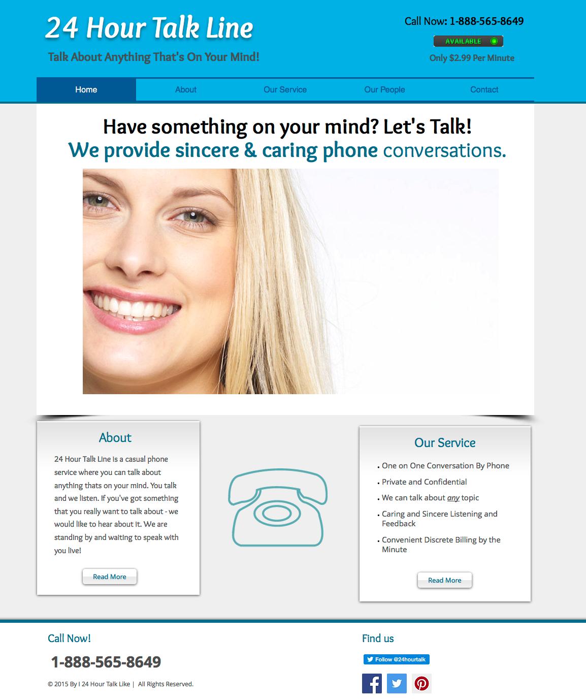 Talk Line