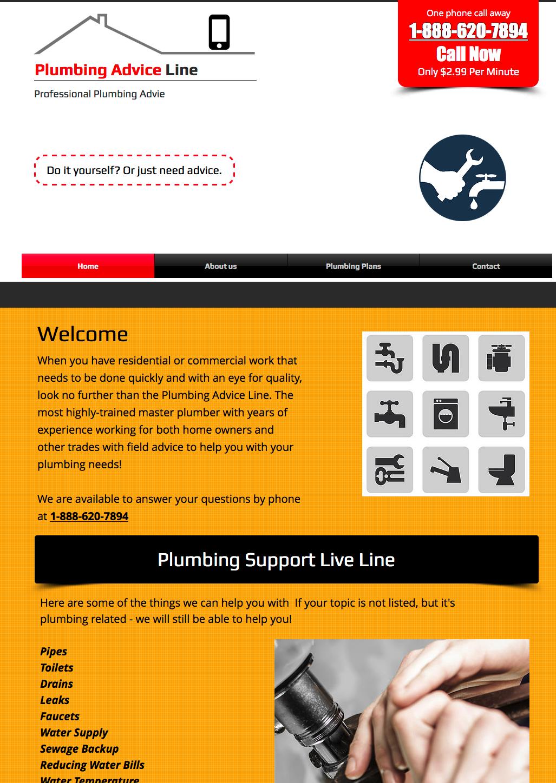 Advice Line (Plumbing)